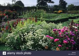 Kitchen Garden Plants Parham Sussex The Kitchen Garden Cut Flower Borders Summer August