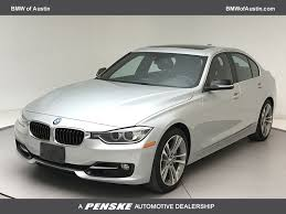 2015 Used BMW 3 Series 335i at BMW of Austin Serving Austin, Round ...