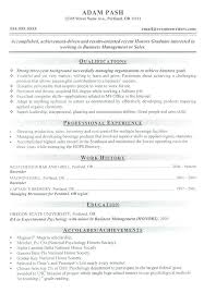 Sample Of A Good Resume Format Resume Examples Good Resume Examples