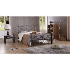 black and silver furniture. null black u0026 silver queen platform bed and furniture