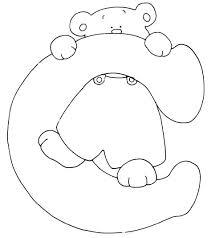 Disegno Alfabeto Con Orso 3 Con Alfabeto Disney Da Stampare E 3 22