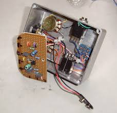dod od 250 preamp overdrive pedal a couple of cable ties to tidy it all up just keep the o p wire separate from the input wire as this can cause ve feedback in the form of oscillation at