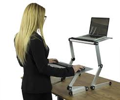 standing desk for laptop.  Desk WorkEZ Standing Desk Ergonomic Sitstand Coversion To For Laptop
