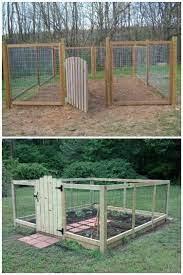 diy garden fence deer resistant garden
