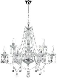 oil rubbed bronze giverny traditional 9 light acrylic crystal chandelier chrome home depot