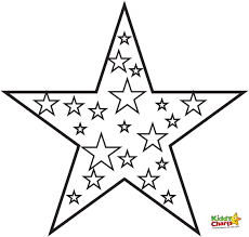 printable star coloring pages free printable star pages for kids with stars glum me