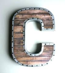 large letters to hang on wall letters to hang on wall large metal letters to hang