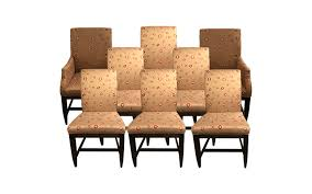 Viyet Designer Furniture Seating Swaim Silk Embroidered