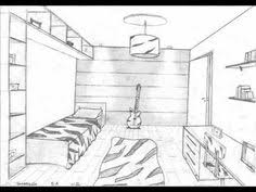 Attractive 1 Point Perspective Rooms 8os. Anos   YouTube