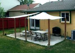 backyard canopy deck awning outdoor shade patio gazebo wood awnings plans a sh wood canopy outdoor backyard deck plans
