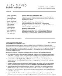 Web Producer Resume Samples & Examples