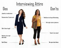interviewing attire dos and don ts females