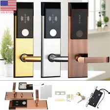 home security door locks. Perfect Security Image Is Loading USAElectronicSafetyEntryDoorLockRFIDCards On Home Security Door Locks 2