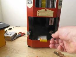 Select O Vend Candy Machine Stunning Vintage Select O Vend Gum Machine Modified To Dispense Tiny Chiclet