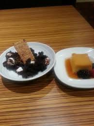 excalibur buffet s more molten chocolate and flan 6