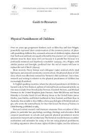 physical punishment of children brill online physical punishment of children page 1 of 1 < previous page next page > docserver preview journals 15718182 23 3 15718182 023 03 s009 text 1 gif
