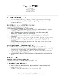 Resume Objective Examples Interesting Resumes Objective Sample Trend Resume Objective Examples For