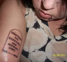 browse a gallery of kurt vonnegut tattoos and see why he s the vonnegut tattoos 5