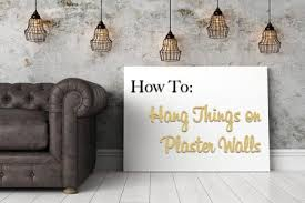 How To Hang A Coat Rack Without Studs Cool How To Hang Things On Plaster Walls The Craftsman Blog