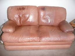 leather sofa leather couch rip repair