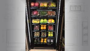 Refrigerated Vending Machine Stunning Salad Vending Machine Vegan Or Healthy Fresh Food Vending Machines