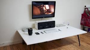 Unique Ikea Standing Desk Galant The Low White Workspace For Design Ideas