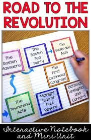 best american revolution timeline ideas  american revolution revolutionary war causes interactive notebook unit