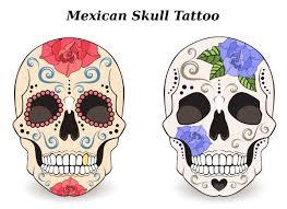Mexican Skull Tattoo