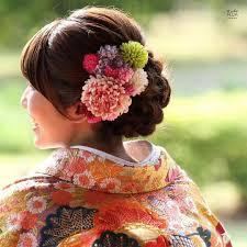 和装ウェディングに似合う髪型特集 吉田になる 結婚式 振袖 髪型