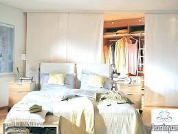 bedroom in closet walk
