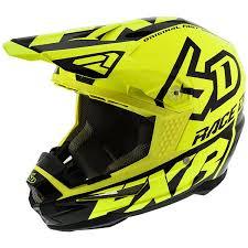 Fxr Racing 6d Atr 1 Helmet Color Blk_hvs Size M