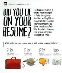 How To Lie On A Resume - April.onthemarch.co