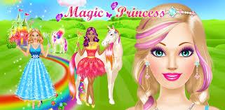 magic princess dress up makeup