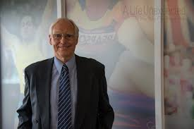 another day another great line up of interviewees athletics interviewee ron carlton after his interview in the athletics hq boardroom in melbourne photo