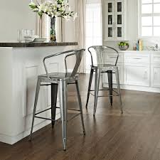 decorating unique farcroise silver bar stools for home bar or