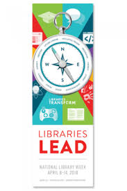 2018 National Library Week Bookmark Ala Store