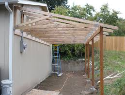 porch roof plans correct installation of the over leanto