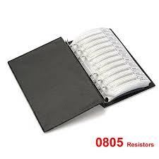 wingoneer 1 0805 smd resistor aggregate folder 170 value x 50 pcs 8500 pcs sle book wingoneer 1 0805 smd resistor aggregate folder 0 ohm 10 m ohm