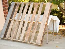 Diy Dog Bed Upcycle Wood Pallets Into A Cozy Outdoor Dog Bed Hgtv