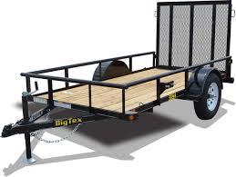 sa sa single axle utility big tex trailers 30sa