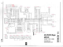 baja 250 atv wiring diagrams baja automotive wiring diagrams xlr250 baja wiring diagram md22