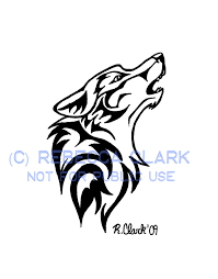 howling wolf drawing tattoo. Plain Howling Howling Wolf Tattoo By InsaneRoman  Throughout Drawing O