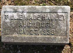 "Matilda ""Tillie"" Wade Hadley (1861-1938) - Find A Grave Memorial"