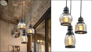 Glass jar pendant light Rustic Glass Mason Jar Pendant Architypesnet 10 Farmhouse Pendant Lights You May Have Missed