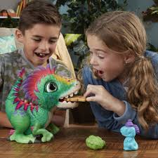 For 5-Year-Olds: FurReal Munchin Rex   Best Toys Kids of All