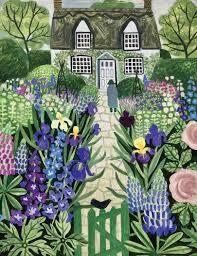 english country garden ideas house