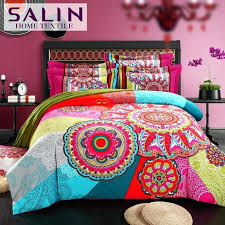elephant bedding set mandala comforter bed bohemian