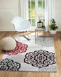 red and white area rug red black and gray area rugs new summit elite s gray red and white area rug