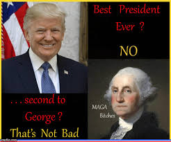 Image result for george washington and trump