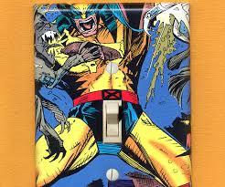 comic book lighting. Superhero Light Switch Plates Comic Book Lighting